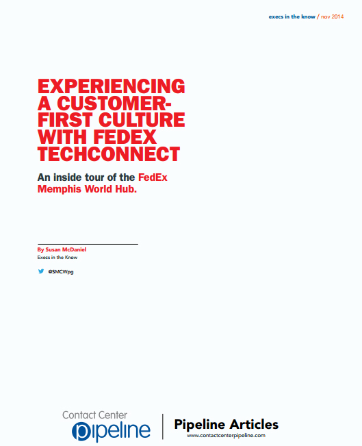 Experiencing A Customer-First Culture With FedEx Techconnect