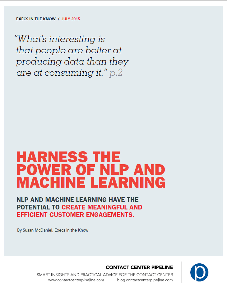 Harness The Power of NLP & Machine Learning