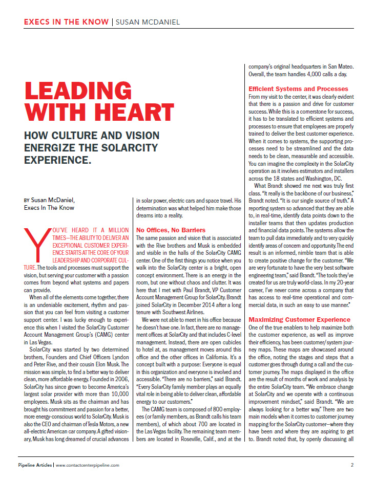 Leading With Heart: How Culture & Vision Energize The SolarCity Experience