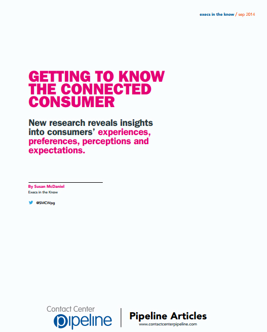Getting to Know the Connected Consumer – CCP – September 2014 Issue