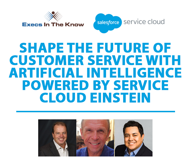 Shape The Future of Customer Service With A.I. Powered by Service Cloud Einstein