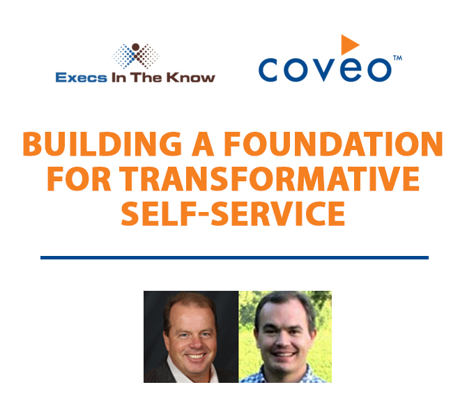 NEW: Building a Foundation for Transformative Self-Service – June 27 @ 1 PM ET.