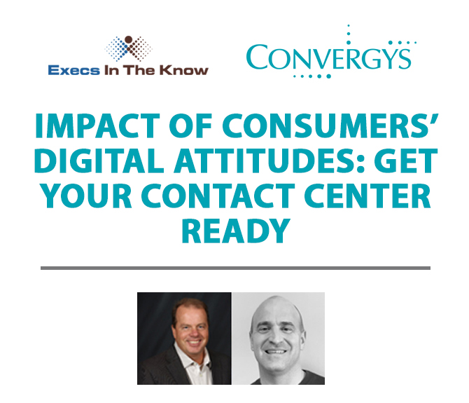 Impact of Consumers' Digital Attitudes – Get Your Contact Center Ready